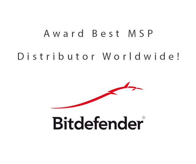 DCC gehuldigd als beste MSP distributeur Bitdefender!