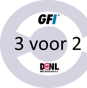 GFI 3 voor 2 actie – NOG 2 DAGEN!