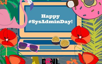 Happy SysAdmin Day!