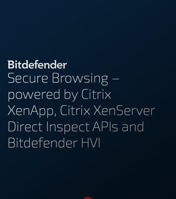 Whitepaper: Veilig browsen met Bitdefender en Citrix